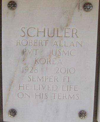 SCHULER, ROBERT ALLEN - Yavapai County, Arizona | ROBERT ALLEN SCHULER - Arizona Gravestone Photos
