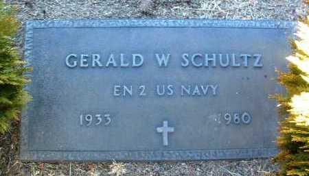 SCHULTZ, GERALD W. - Yavapai County, Arizona | GERALD W. SCHULTZ - Arizona Gravestone Photos