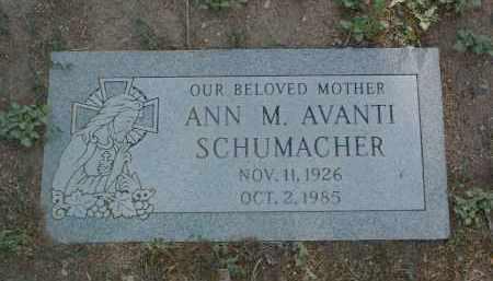 SCHUMACHER, ANN M. - Yavapai County, Arizona | ANN M. SCHUMACHER - Arizona Gravestone Photos