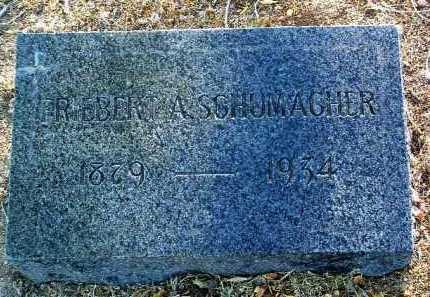 SCHUMACHER, FRIEBERT A. - Yavapai County, Arizona | FRIEBERT A. SCHUMACHER - Arizona Gravestone Photos