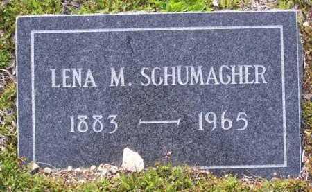 SCHUMACHER, LENA M. - Yavapai County, Arizona | LENA M. SCHUMACHER - Arizona Gravestone Photos