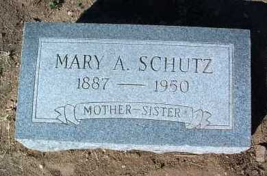 SCHUTZ, MARY ANN - Yavapai County, Arizona | MARY ANN SCHUTZ - Arizona Gravestone Photos