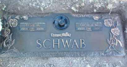 SCHWAB, GEORGE WESLEY - Yavapai County, Arizona   GEORGE WESLEY SCHWAB - Arizona Gravestone Photos