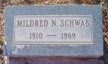 SCHWAB, MILDRED NELLIE - Yavapai County, Arizona | MILDRED NELLIE SCHWAB - Arizona Gravestone Photos