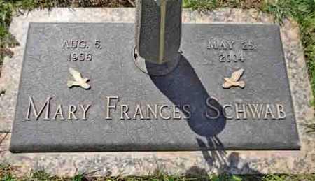 SCHWAB, MARY FRANCES - Yavapai County, Arizona | MARY FRANCES SCHWAB - Arizona Gravestone Photos