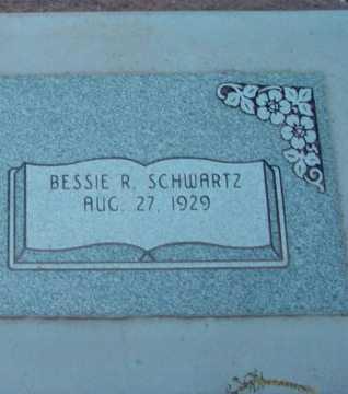 SCHWARTZ, BESSIE R. - Yavapai County, Arizona   BESSIE R. SCHWARTZ - Arizona Gravestone Photos