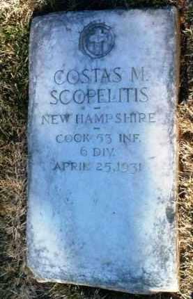 SCOPELITIS, COSTAS MANUEL - Yavapai County, Arizona | COSTAS MANUEL SCOPELITIS - Arizona Gravestone Photos