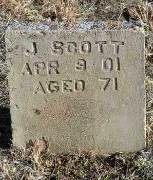 SCOTT, J. H. - Yavapai County, Arizona | J. H. SCOTT - Arizona Gravestone Photos