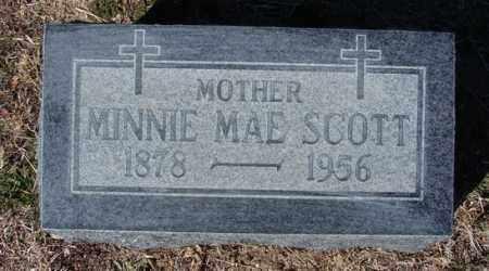 BIBEE SCOTT, MINNIE MAE - Yavapai County, Arizona | MINNIE MAE BIBEE SCOTT - Arizona Gravestone Photos