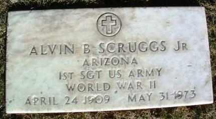 SCRUGGS, ALVIN BASCOMB - Yavapai County, Arizona   ALVIN BASCOMB SCRUGGS - Arizona Gravestone Photos