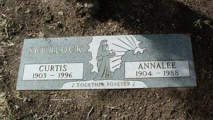 SCURLOCK, CURTIS R. - Yavapai County, Arizona | CURTIS R. SCURLOCK - Arizona Gravestone Photos