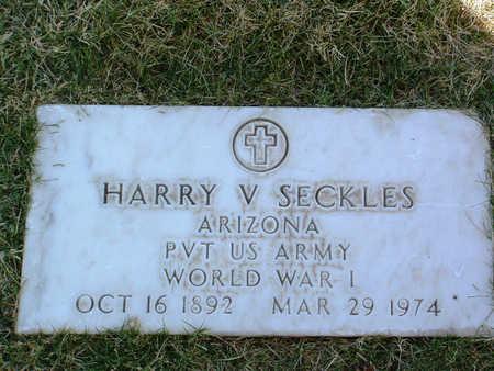 SECKLES, HARRY V. - Yavapai County, Arizona   HARRY V. SECKLES - Arizona Gravestone Photos