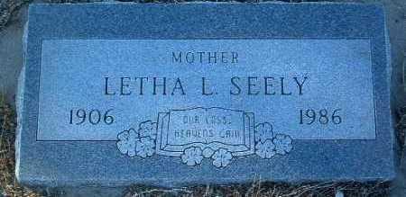 KNIGHT SEELY, LETHA L. - Yavapai County, Arizona | LETHA L. KNIGHT SEELY - Arizona Gravestone Photos