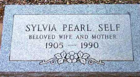 SELF, SYLVIA PEARL - Yavapai County, Arizona | SYLVIA PEARL SELF - Arizona Gravestone Photos