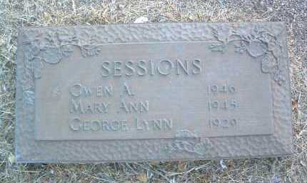 SESSIONS, GWEN ADONA - Yavapai County, Arizona | GWEN ADONA SESSIONS - Arizona Gravestone Photos