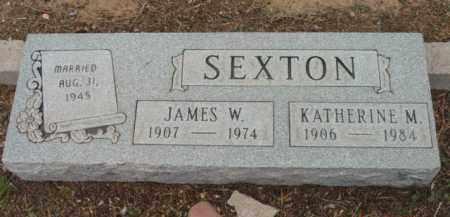 SEXTON, JAMES W. - Yavapai County, Arizona | JAMES W. SEXTON - Arizona Gravestone Photos
