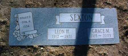 SEXTON, LEON H. - Yavapai County, Arizona | LEON H. SEXTON - Arizona Gravestone Photos