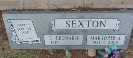 SEXTON, THOMAS LEONARD - Yavapai County, Arizona | THOMAS LEONARD SEXTON - Arizona Gravestone Photos