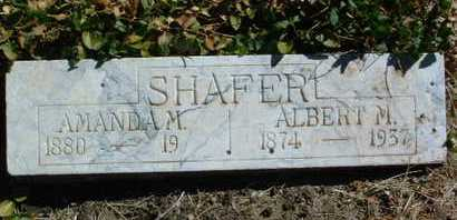 SHAFER, AMANDA M. - Yavapai County, Arizona | AMANDA M. SHAFER - Arizona Gravestone Photos