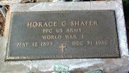 SHAFER, HORACE C. - Yavapai County, Arizona | HORACE C. SHAFER - Arizona Gravestone Photos