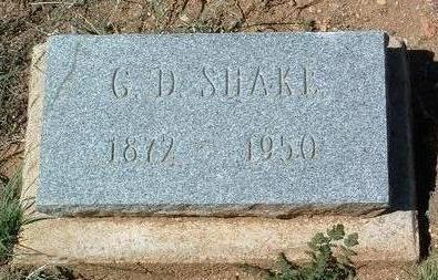 SHAKE, GEORGE DAVID - Yavapai County, Arizona | GEORGE DAVID SHAKE - Arizona Gravestone Photos