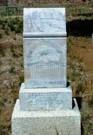 SHANBERGER, ELIZABETH - Yavapai County, Arizona   ELIZABETH SHANBERGER - Arizona Gravestone Photos