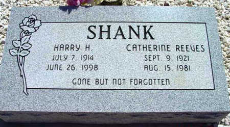 REEVES SHANK, CATHERINE - Yavapai County, Arizona | CATHERINE REEVES SHANK - Arizona Gravestone Photos