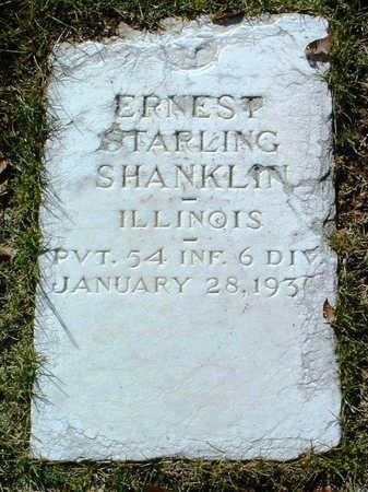 SHANKLIN, ERNEST STARLING - Yavapai County, Arizona   ERNEST STARLING SHANKLIN - Arizona Gravestone Photos