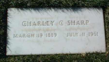 SHARP, CHARLEY C. - Yavapai County, Arizona | CHARLEY C. SHARP - Arizona Gravestone Photos