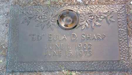 SHARP, EULA D. (ED) - Yavapai County, Arizona   EULA D. (ED) SHARP - Arizona Gravestone Photos