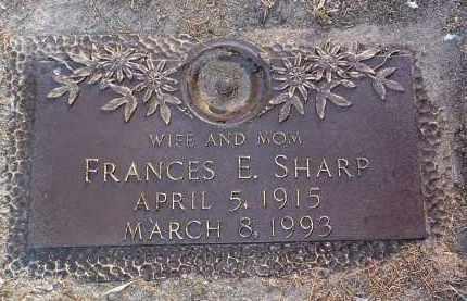 JOHNSON SHARP, FRANCES - Yavapai County, Arizona | FRANCES JOHNSON SHARP - Arizona Gravestone Photos