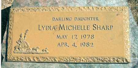 SHARP, LYDIA MICHELLE - Yavapai County, Arizona   LYDIA MICHELLE SHARP - Arizona Gravestone Photos