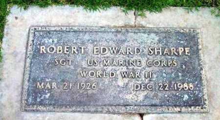 SHARPE, ROBERT EDWARD - Yavapai County, Arizona | ROBERT EDWARD SHARPE - Arizona Gravestone Photos