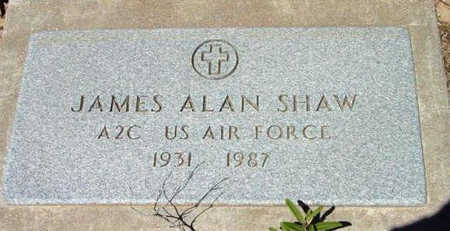 SHAW, JAMES ALAN - Yavapai County, Arizona | JAMES ALAN SHAW - Arizona Gravestone Photos