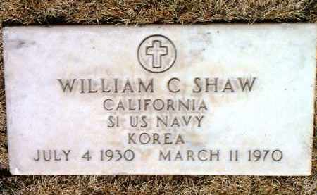 SHAW, WILLIAM C. - Yavapai County, Arizona   WILLIAM C. SHAW - Arizona Gravestone Photos
