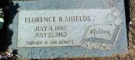 SHIELDS, FLORENCE BELLE - Yavapai County, Arizona | FLORENCE BELLE SHIELDS - Arizona Gravestone Photos