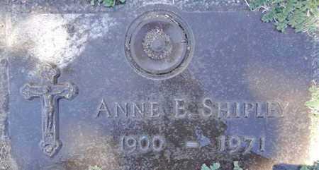 BROZWICK SHIPLEY, ANN E. - Yavapai County, Arizona | ANN E. BROZWICK SHIPLEY - Arizona Gravestone Photos