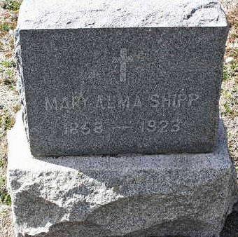 BOWER SHIPP, MARY ALMA - Yavapai County, Arizona | MARY ALMA BOWER SHIPP - Arizona Gravestone Photos