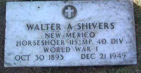 SHIVERS, WALTER ANGUS - Yavapai County, Arizona   WALTER ANGUS SHIVERS - Arizona Gravestone Photos