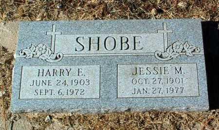SHOBE, JESSIE M. - Yavapai County, Arizona | JESSIE M. SHOBE - Arizona Gravestone Photos