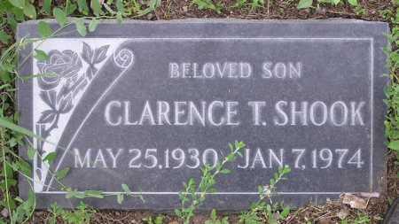 SHOOK, CLARENCE THOMAS - Yavapai County, Arizona | CLARENCE THOMAS SHOOK - Arizona Gravestone Photos