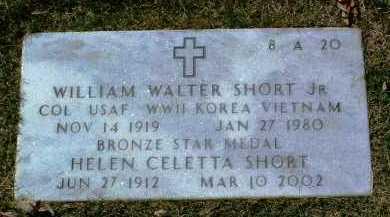 SHORT, WILLIAM WALTER, JR. - Yavapai County, Arizona | WILLIAM WALTER, JR. SHORT - Arizona Gravestone Photos