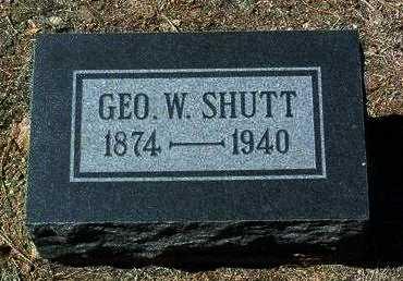 SHUTT, GEORGE W. - Yavapai County, Arizona   GEORGE W. SHUTT - Arizona Gravestone Photos