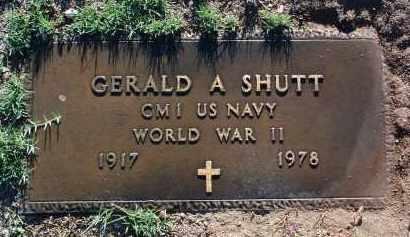 SHUTT, GERALD AVERY - Yavapai County, Arizona | GERALD AVERY SHUTT - Arizona Gravestone Photos