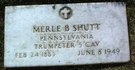 SHUTT, MERLE B. - Yavapai County, Arizona | MERLE B. SHUTT - Arizona Gravestone Photos