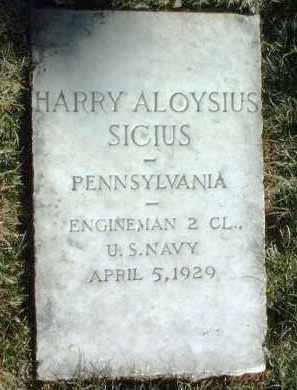 SICIUS, HARRY ALOYSIUS - Yavapai County, Arizona | HARRY ALOYSIUS SICIUS - Arizona Gravestone Photos