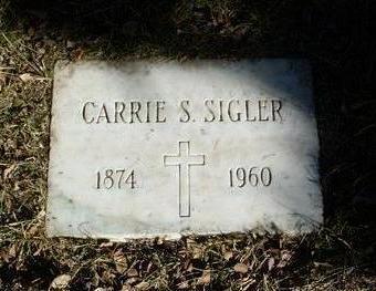 SLIGH SIGLER, CARRIE S. - Yavapai County, Arizona | CARRIE S. SLIGH SIGLER - Arizona Gravestone Photos