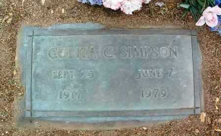 SIMPSON, COLITA C. - Yavapai County, Arizona | COLITA C. SIMPSON - Arizona Gravestone Photos