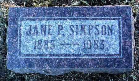 PATTERSON, JANE POLLY - Yavapai County, Arizona | JANE POLLY PATTERSON - Arizona Gravestone Photos