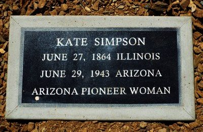 SIMPSON, KATE AMY - Yavapai County, Arizona | KATE AMY SIMPSON - Arizona Gravestone Photos